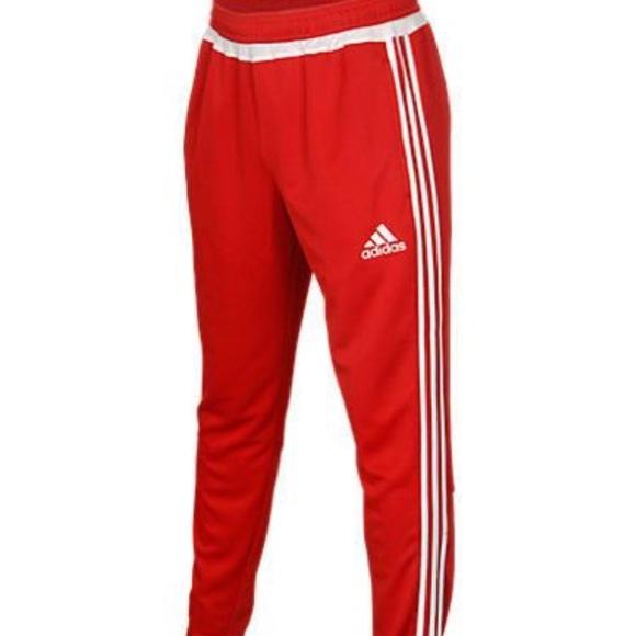 finest selection e079d c7185 Red Tiro Adidas Joggers